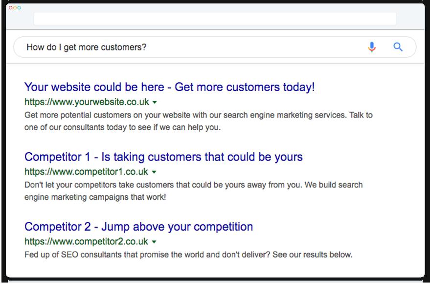 Search engine optimisation consultants