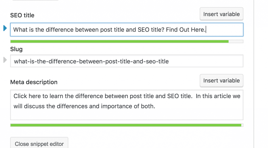 seo title from yoast