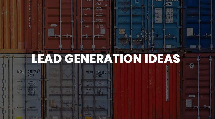 lead generation ideas for storage companies